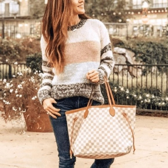 NWT American Eagle Striped Jegging Fit  Chunky Sweater S